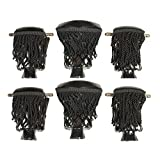 Set of 6 Pool Table Billiard Pockets with Fringe