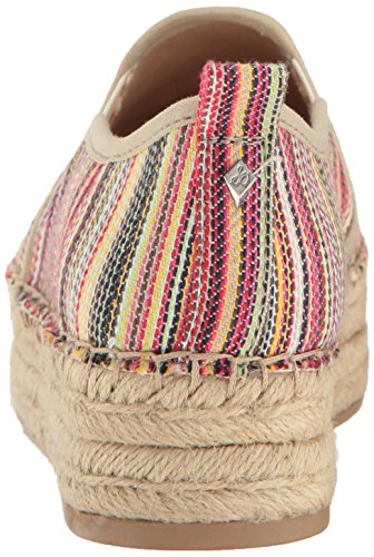 Stripe Multi Ballet Sam Flat Edelman Carrin Bright Women's xwFw0pYqR