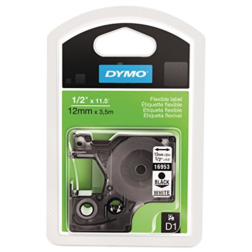 DYM16953 - As Cut - DYMO D1 Flexible Nylon Label Cartridge - Each