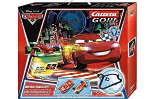 CARRERA GO 62354 DISNEY CARS NEON RACERS AUTORENNBAHN 5,4m