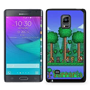 Great Quality Samsung Galaxy Note Edge Case ,terraria Black Samsung Galaxy Note Edge Cover Case Hot Sale Phone Case Unique And Beatiful Designed