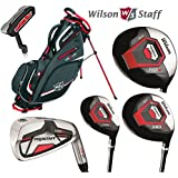 Wilson Prostaff All Graphite Shafted HDX Complete Golf Club Set & Stand Bag New For 2016 Mens Right Hand