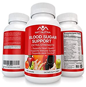Blood Sugar Support - Diabetic Supplement to Lower Blood Sugar by MIT NUTRA