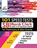 101 Speed Tests for SBI Clerk Preliminary & Mains Exam with 5 Practice Sets