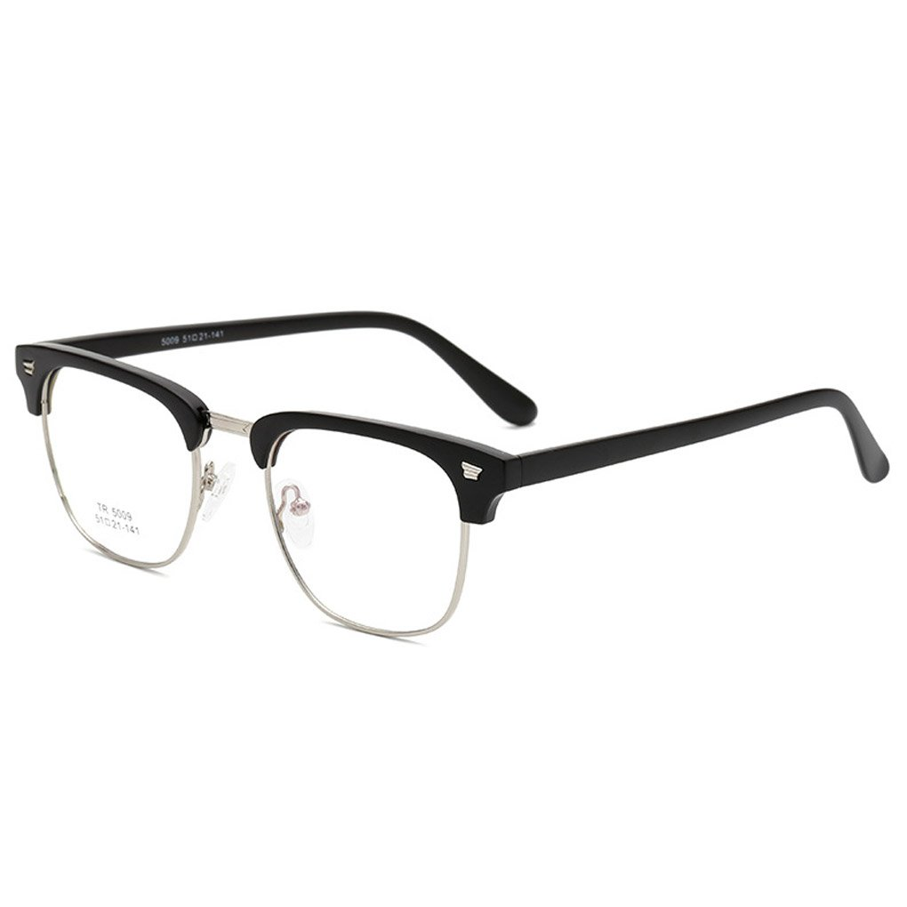 M-Egal TR90 Optical Frame Glasses Men Women Eyeglasses Spectacles RX Half Rim NO.2
