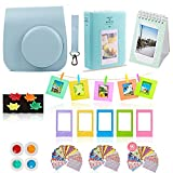 Fujifilm Instax Mini 26 Camera Accessories Bundle, 10 Piece Kit Includes: Mini 26 Case + Strap, 2 Photo Albums, 4 Color Lenses , Hanging + Photo Frames, Fridge Photo Magnets, 60 Stickers + Gift Set
