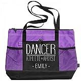 Dancer Athlete & Artist Emily: Gemline Select Zippered Tote Bag