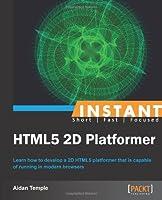 Instant HTML5 2D Platformer Front Cover