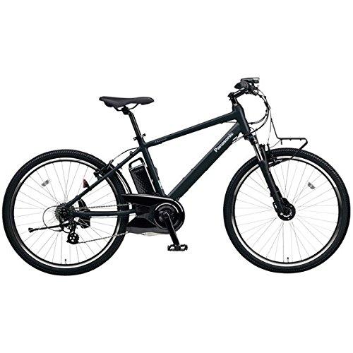 PANASONIC BE-ELH242-AB マットナイト ハリヤ [電動自転車(26インチ外装7段変速)] B0792P8Z45