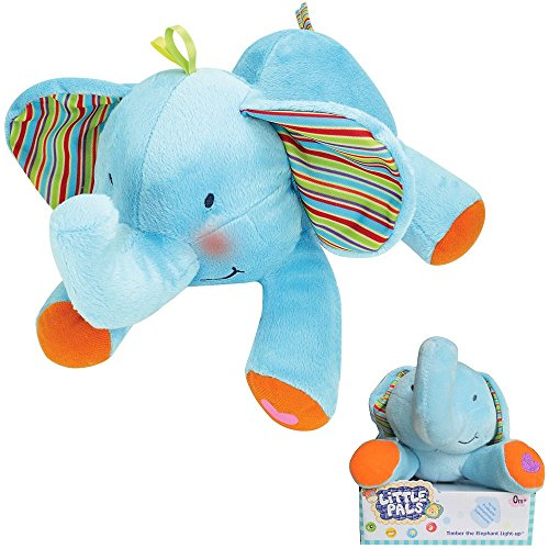 Little Pals Timber the Elephant Light-Up Musical Plush (Toadstool From Mario)