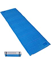 Camp Pad - Portable Lightweight Folding Foam Mat Mattress CUShion For Outdoor Hiking Camping Backpacking (Blue, Regular)