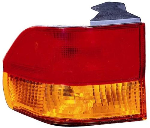 Depo 317-1961L-AF-YR Honda Odyssey Driver Side Replacement Taillight Assembly (NSF Certified)