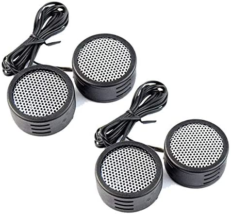 2  Packs 500w SUPER TWEETERS BUILT IN CROSSOVER CAR AUDIO TRUCK BIKE XTC-3300