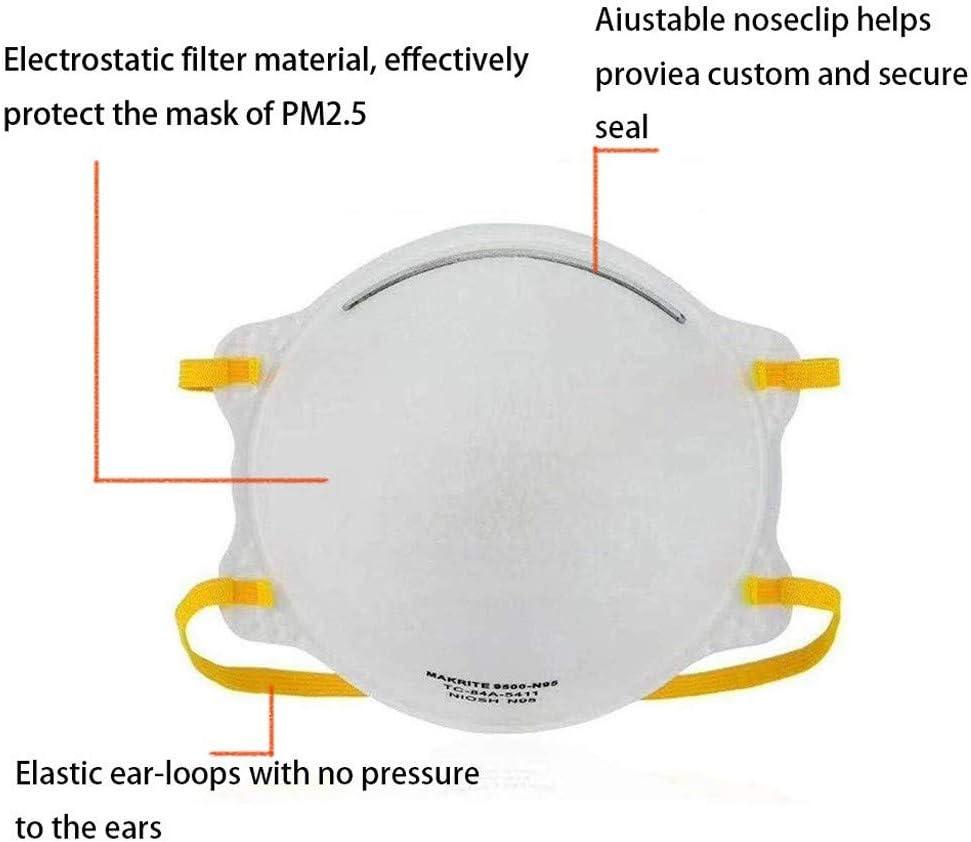 10 St/ück 5-lagige zum Schutz vor Wind 10 St/ück A und Nebelverschmutzung