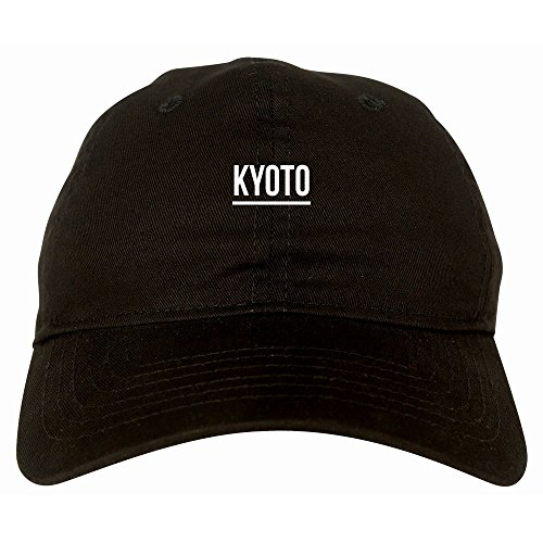 Kings Of NY City Of Kyoto Simple Underline 6 Panel Dad Hat Cap (Kyoto King)