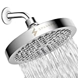 cool rain shower heads SparkPod Shower Head - High Pressure Rain - Luxury Modern Chrome Look - Easy Tool Free Installation - The Perfect Adjustable & Heavy Duty Universal Replacement For Your Bathroom Shower Heads