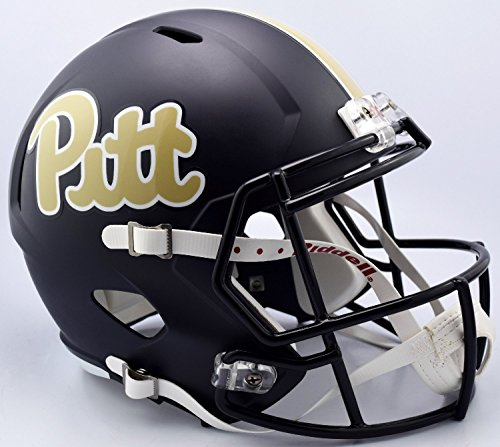 (Riddell NCAA Pittsburgh Panthers Helmet Full Size Replica, One Size, Team Color)