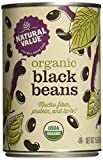Natural Value Organic Black Beans, 15 Ounce Cans (Pack of 12)