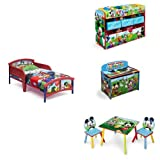 Disney Micky Mouse Room in a Box with Toy Bin