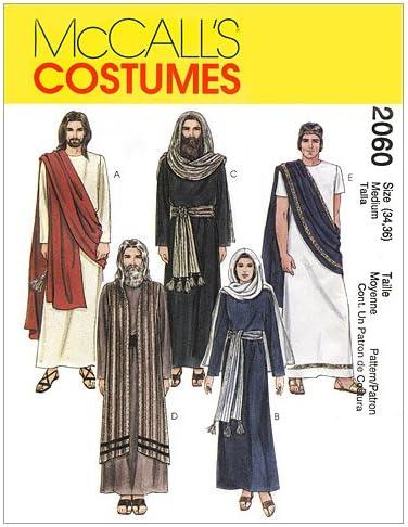 McCalls M5905 Childrens Biblical Costume Sewing Patterns Sizes M-XL