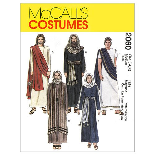 - McCall's Costumes M2060, Easter Passion Play Costumes Sewing Pattern, Sizes L-XL