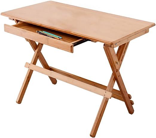 Mesa plegable LXF Mesa De Estudio Plegable para Niños De Bambú ...