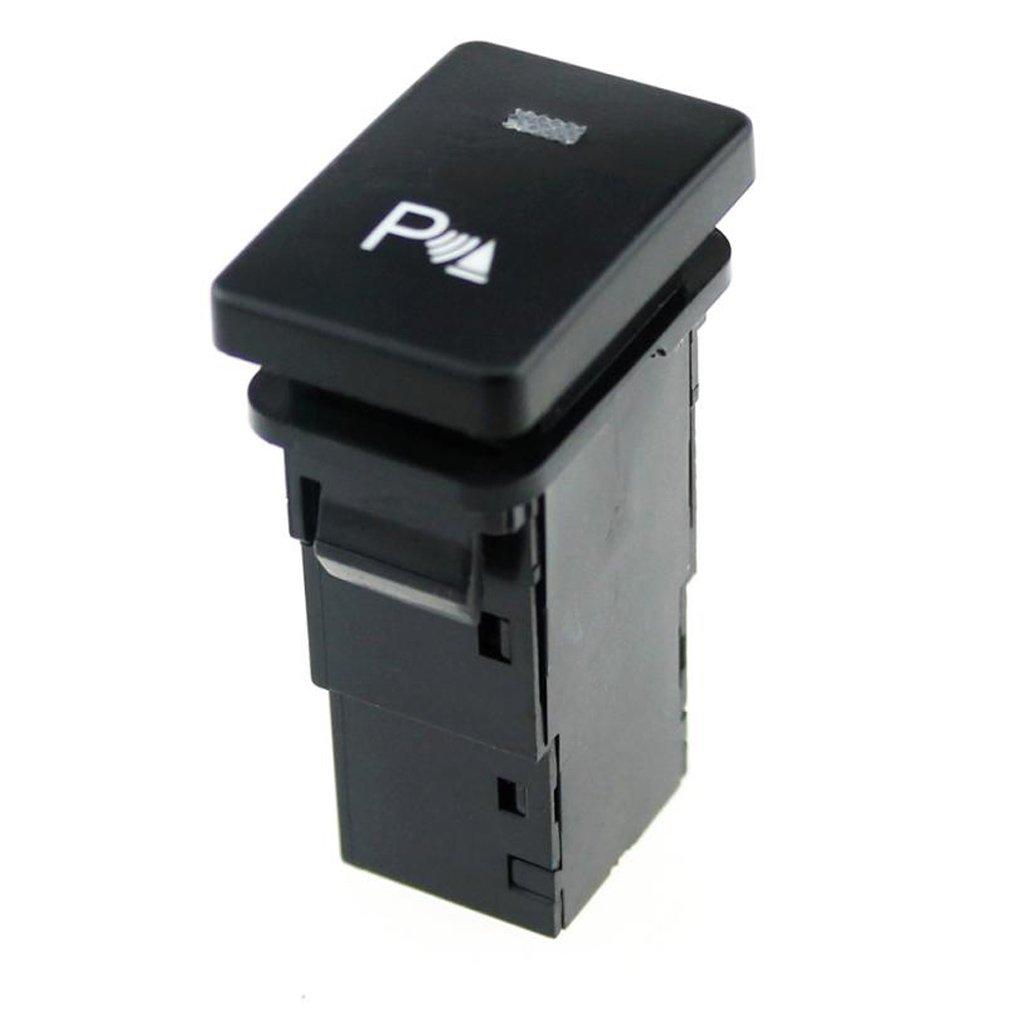 Patr/ón de estacionamiento Shiwaki Interruptor De Bot/ón Pulsador De 4 Polos LED Azul para Toyota Camry Land Cruiser Hilux