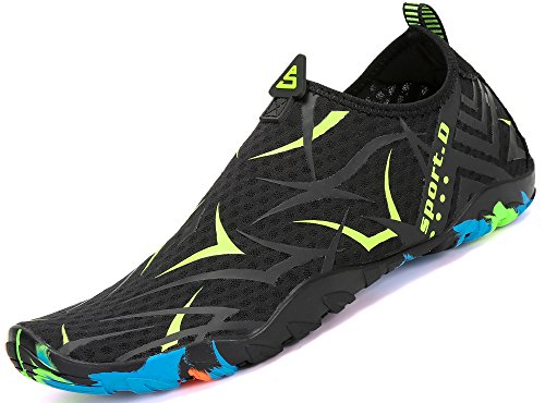 Aqua Yoga Saguaro Playa para la de Shoes de de Nadada Verde Patrón acuático Skin la Calcetines de Descalzo Resaca la cr7TqIPWr