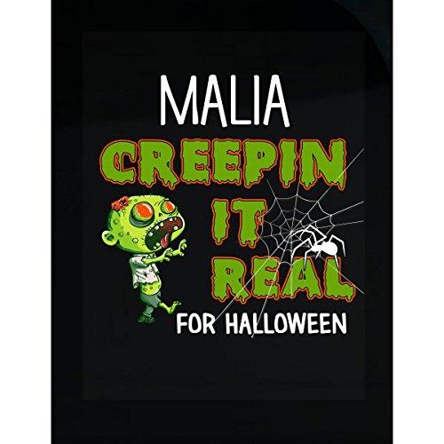 Prints Express Malia Creepin It Real Funny Halloween Costume Gift - Sticker]()