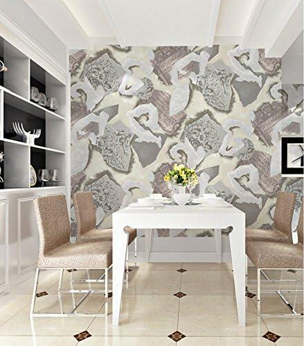 Amazon Co Jp Gdxrb 不織布壁紙抽象芸術の背景寝室の壁紙の装飾ファッションの個性 Color C ホーム キッチン