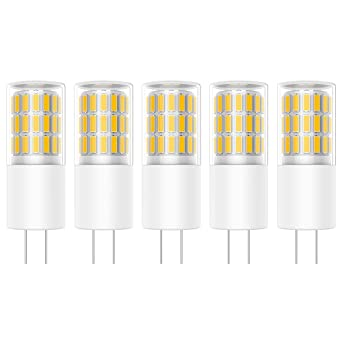 3w Led Dimmable Blanc Ampoule Lamps 2835leds 45 5x G4 Smd Bulb 5R34AjL