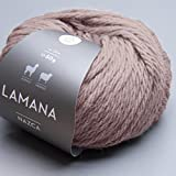 Lamana Nazca 037 perlgrau / 50g Wolle