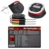 Weber iGrill2 Complete Master Kit with 3 Pro Meat Probes, 1 Ambient Pro Probe and GrillingPros Meat Smoking Guide Magnet