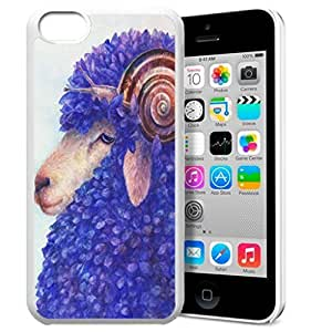 Animal Art Illustration Pattern HD Durable Hard Plastic case cover wKCvI3VoUaC Cover for iphone 5C
