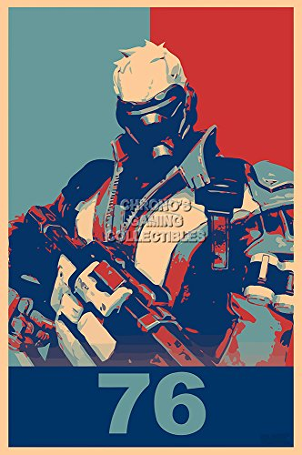 CGC Huge Poster - Overwatch Soldier 76 PS4 XBOX ONE PC - EXT669 (24