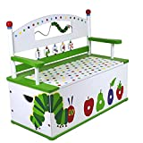 Levels of Discovery Very Hungry Caterpillar Bench Seat w/ Storage Toy Box Bench, One Color, One Size