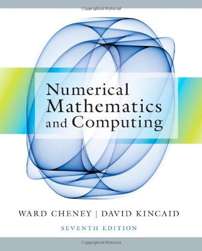 Numerical Mathematics+Computing