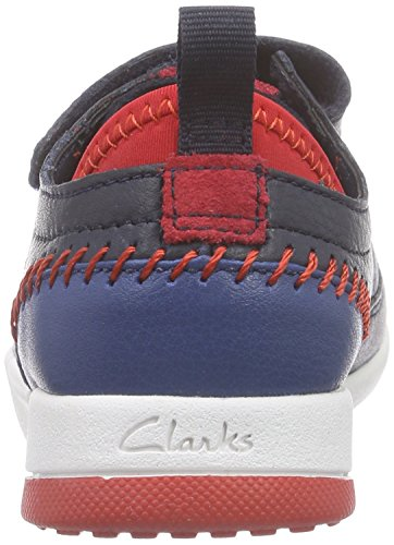 Clarks Combi Lea Scotty Blau Tri Sneakers Jungen Inf Navy r71aqwrZ