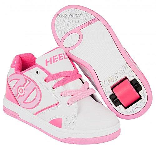 Pink Sneaker White Hot Light Collo a Propel Basso Pink 0 Bambina Heelys 2 qgwvxO8xt