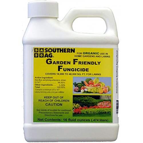 Southern Ag Garden Friendly Biological Fungicide,16oz - Organic Lawn Fungicide