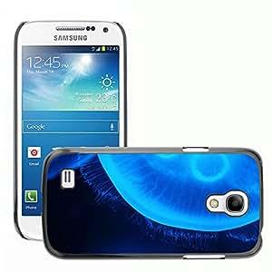 GoGoMobile Slim Protector Hard Shell Cover Case // M00118884 Animal Blue Creature Danger Dark // Samsung Galaxy S4 Mini i9190