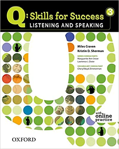 Q skills for success 3 listening speaking student book with q skills for success 3 listening speaking student book with student access code card miles craven kristin d sherman 9780194756129 amazon books fandeluxe Images
