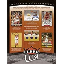 2006 /07 Upper Deck Fleer Ultra Basketball Cards Unopened Hobby Pack (8 cards per pack, 1 gold medallion insert per pack plus randomly inserted Autographs, Jersey Cards, and Rookie Cards of Adam Morrison, JJ Reddick, and other future stars)