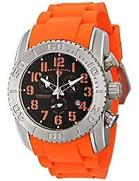 Swiss Legend Men's 11876-TI-01-OAS Commander Analog Display Swiss Quartz Orange Watch