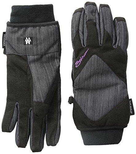 Seirus Innovation Women's Heatwave MsDiamond Gloves, Denim/Black, Large ()