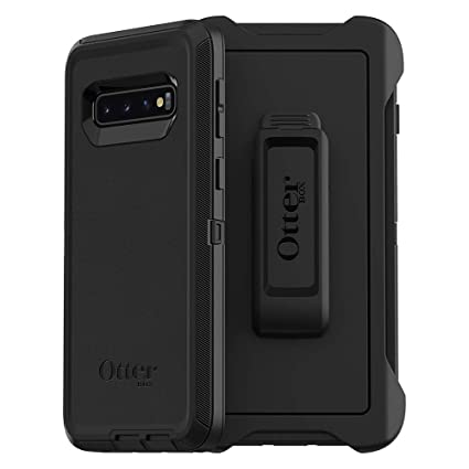 OtterBox DEFENDER SERIES SCREENLESS EDITION Case for Galaxy S10 - BLACK