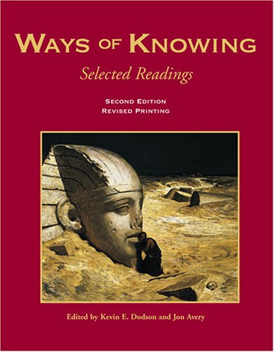 Book cover from Ways of Knowing: Selected Readings by DODSON  KEVIN