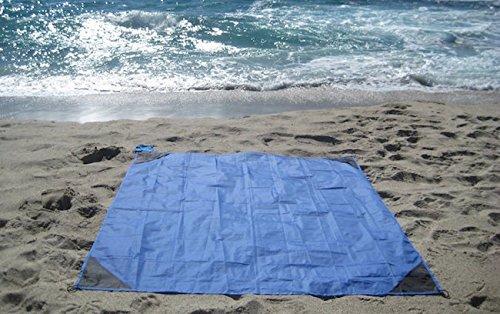 [해외]SupplyDistrict - 옥외, 야영, 피크닉, 해변, 하이킹 용 대형 (63 x 43 인치) 포켓 담요/SupplyDistrict - Large (63 x 43 inches) Pocket Blanket for Outdoor, Camping, Picnic, Beach, Hiking