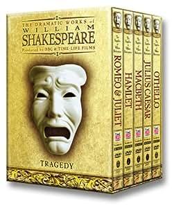 BBC Shakespeare Tragedies DVD Giftbox