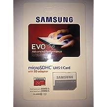 Samsung 256GB EVO Micro SDXC up to 80MB/s with Adapter (MB-MC256DA/AM)